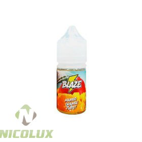 Жидкость BLAZE Salt Mango Orange Twist